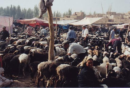 Silk Road: Kashgar Sunday market