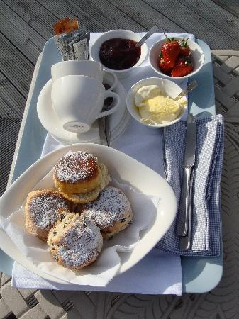 Boskerris Hotel: More cream tea