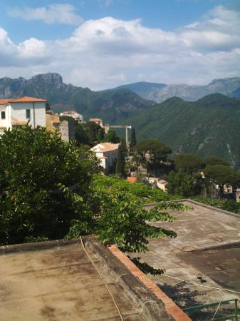 Villa Amore: View from the balcony of room