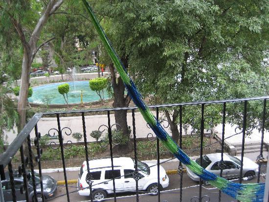 Casa de la Condesa: the view from our balcony
