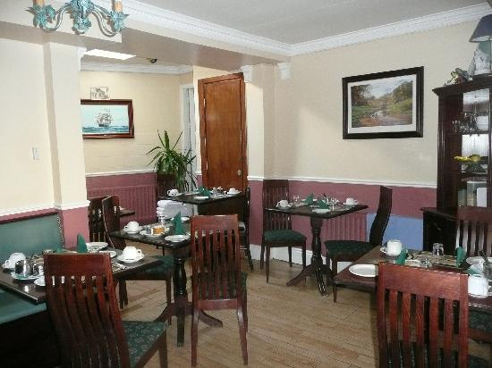 Rockview Bed & Breakfast : Downstairs dining area