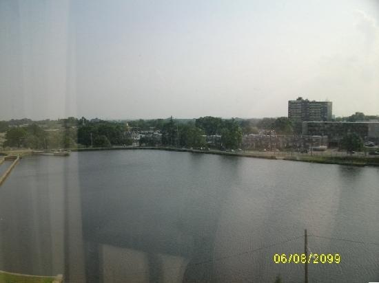 Hilton Philadelphia City Avenue: View from room 705