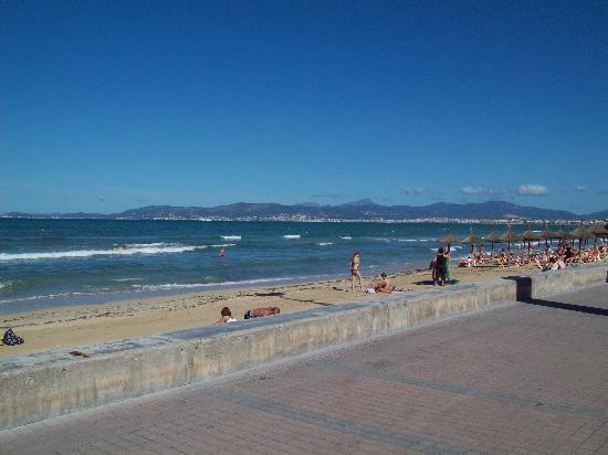 Hotel Gracia: playa de palma