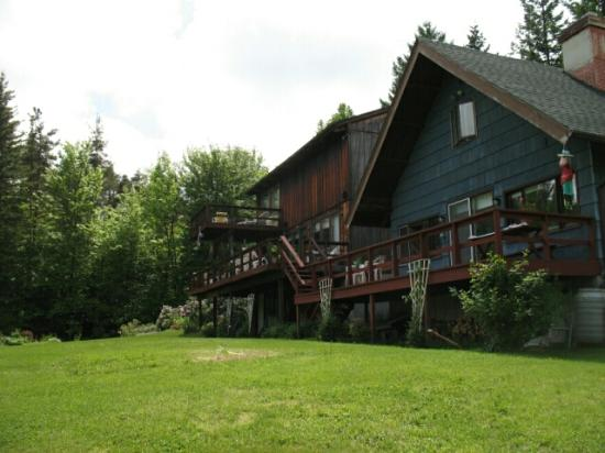 Back of the Beyond Bed and Breakfast: Here's the Chalet