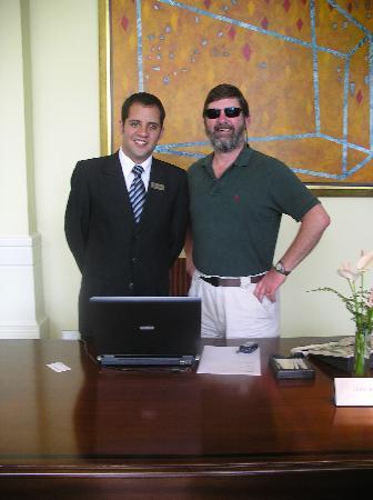 Belmond Miraflores Park: Aldo & Mike planning our day