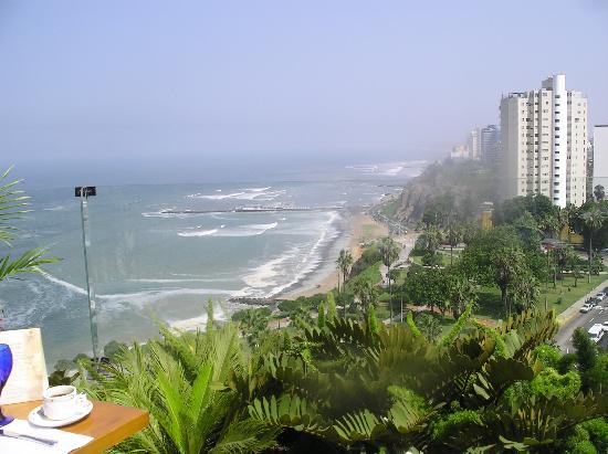 Belmond Miraflores Park: View from breakfast table