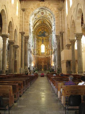Duomo di Cefalu: Cefalu' - il Duomo (XII sec)