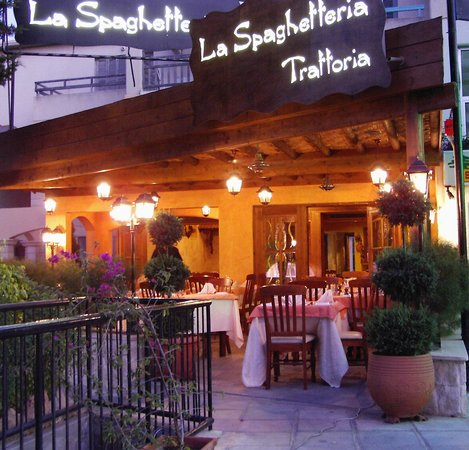 La Spaghetteria : Front of House in Paphos