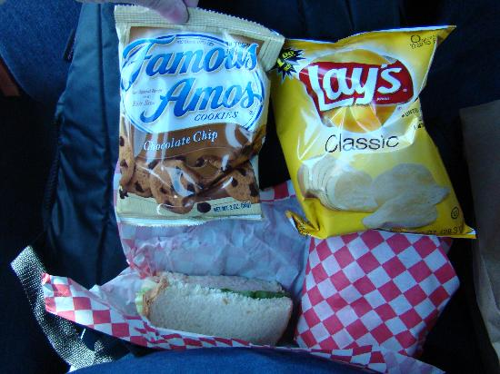 SWEETours, Inc.: Lunch Contents