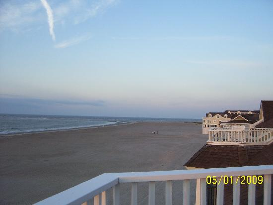 Port O' Call: View south down the beach from top floor deck