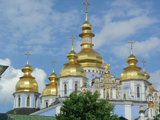 Kiev, Ucrania: Saint Michael's Cathedral