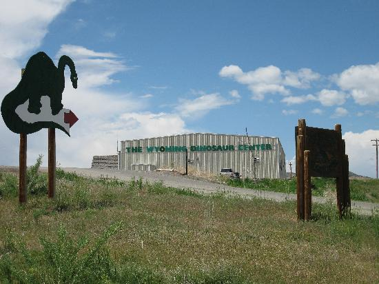 Wyoming Dinosaur Center: Doesn't look like much from the outside.