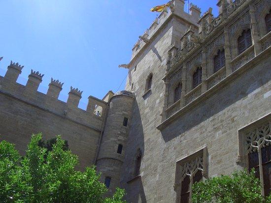 Valencia, Spain: La Lonja,edificio patrimonio Unesco
