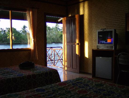 Duenshine Resort: View from my bed