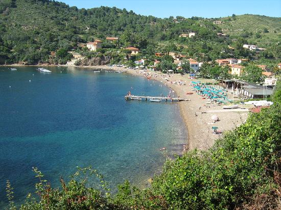 Portoferraio, Italien: spiaggia di Bagnaia