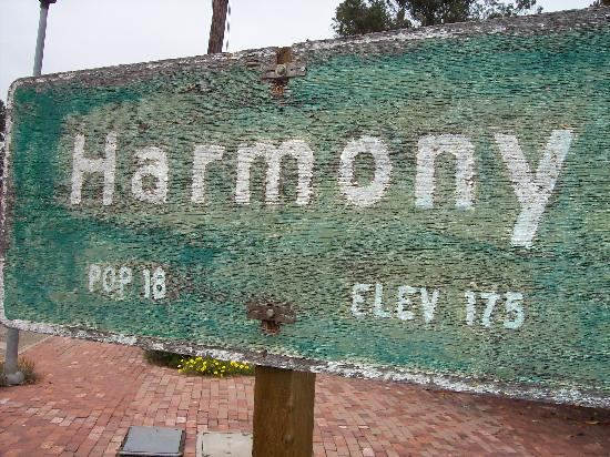 Seaside Motel: Harmony Sign