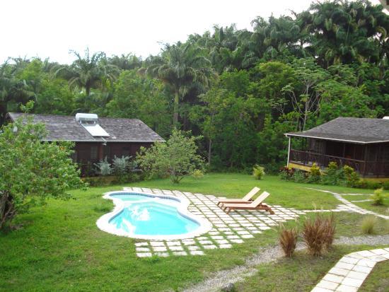 Lush Life Nature Resort: View of Pool