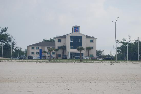 View Of Hotel From Beach Picture Of Motel 6 Biloxi Beach