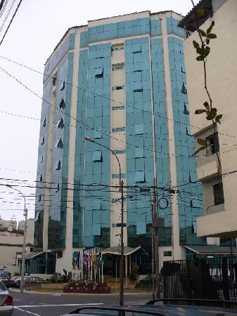 Miraflores Colon  Hotel: Fachada del Miraflores Colón Hotel