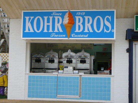 Rehoboth Beach Boardwalk: Kohr Bros NEW Boardwalk Location