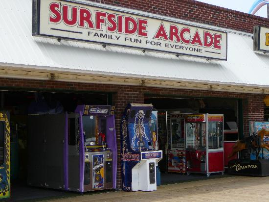 Rehoboth Beach Boardwalk: Surfside Arcade on Rehoboth Boardwalk