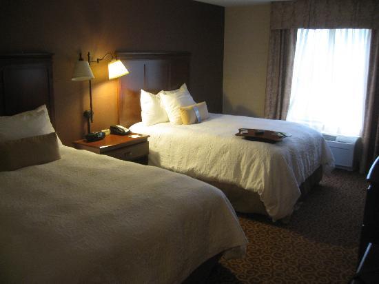 Hampton Inn Springfield South Enfield : Bedroom