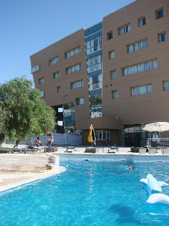The pool picture of del bono park hotel spa casino for Piscinas de san juan