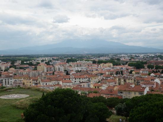 Palais des Rois de Majorque (Palace of the Kings of Majorca): View from the Homage Tower