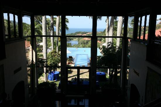 Fairmont Zimbali Lodge: Reception