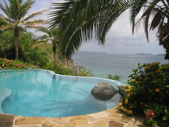 Rosewood Little Dix Bay: spa pool