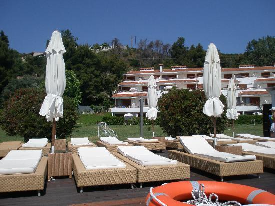 Skiathos Princess Hotel: The amazing sunloungers!