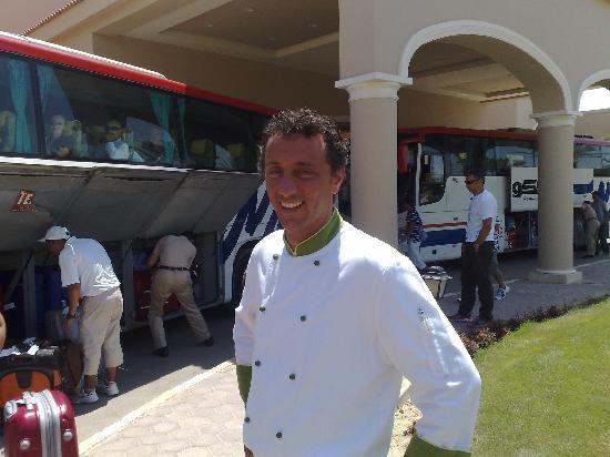 Jaz Almaza Beach Resort: Chef Christiano Rampoldi