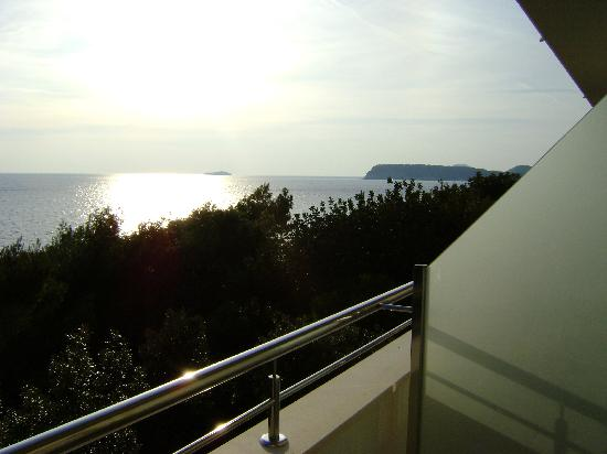 Importanne Resort Dubrovnik: The view from our balcony!
