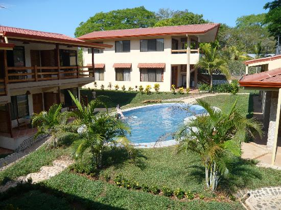Puerto Carrillo Hotel: View of the pool from our room