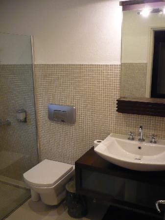 Olympos Lodge: Room - bathroom