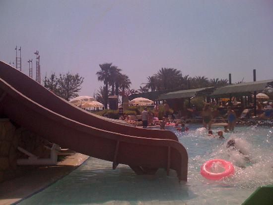 Pegasos World Hotel: one of the many pools
