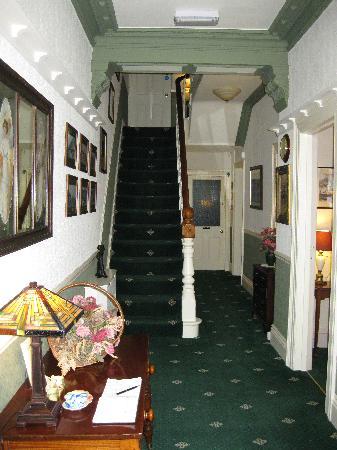 Adcote House: Hallway