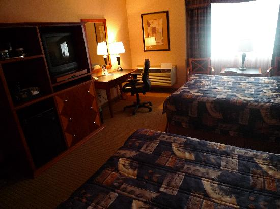 BEST WESTERN PLUS Langley Inn: Twin queen bed room