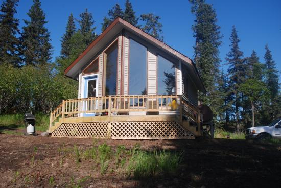 Alaska Lakefront Cabin: Lakefront cabin