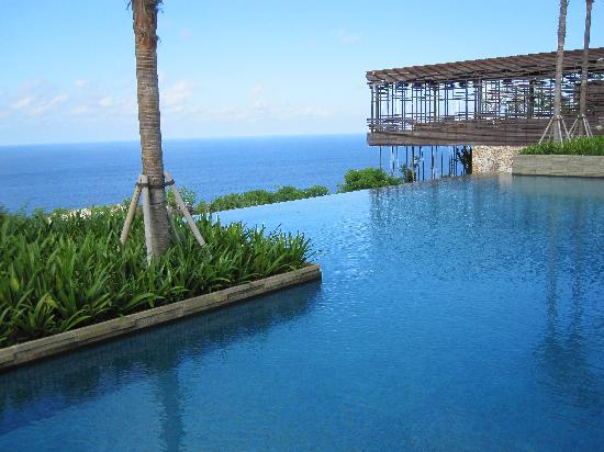 Alila Villas Uluwatu: view from restaurant