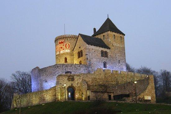 Pologne : Będzin - castle