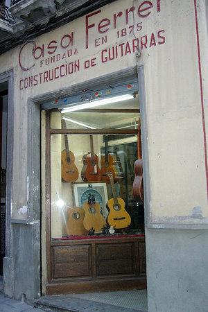 Andalucia, Spain: Magasin-atelier créé par Eduardo Ferrer
