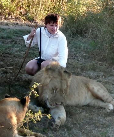 Amadeus Garden: lion walk