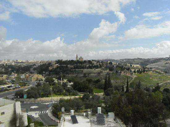 Dan Boutique Jerusalem: View from hotel