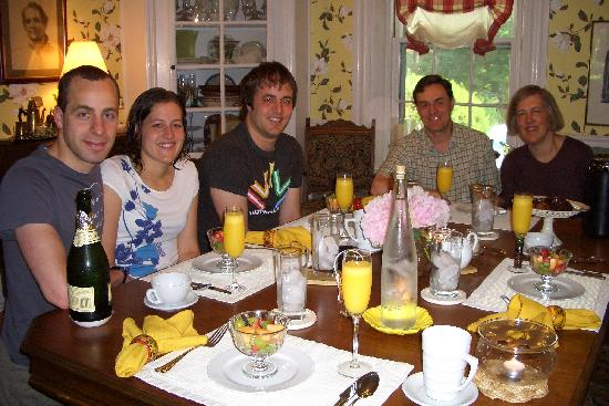 1861 Inn: Breakfast at 1861