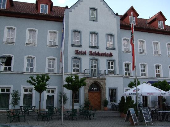 exterior view foto di arvena reichsstadt hotel bad windsheim tripadvisor. Black Bedroom Furniture Sets. Home Design Ideas