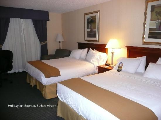 Holiday Inn Express Buffalo Airport: Unser Zimmer