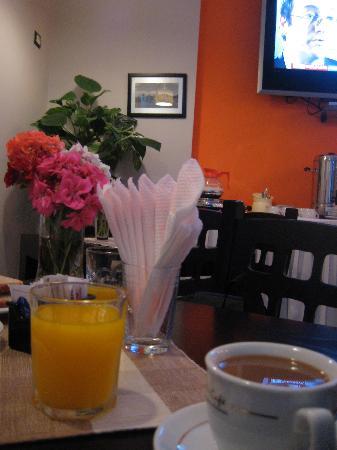 Breakfast at City Hotel Tirana