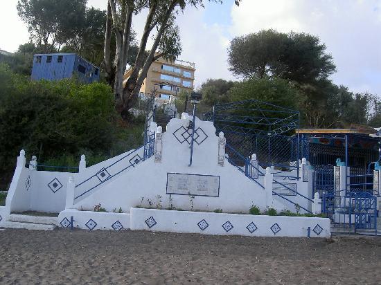 Annaba, Algeria: playa del hotel Rhym el Yamil