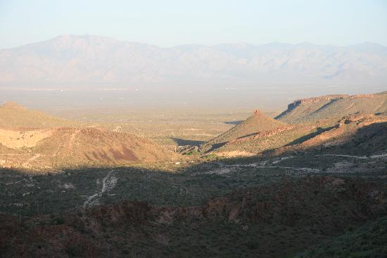 Sitgreaves Pass - view from top